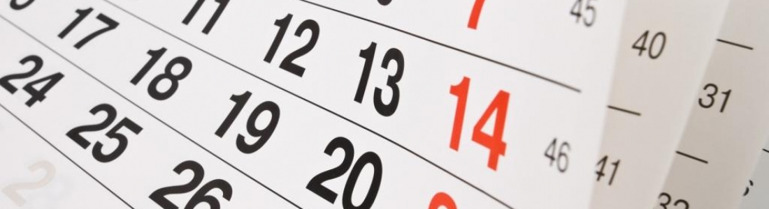 Calendario de Evaluaciones